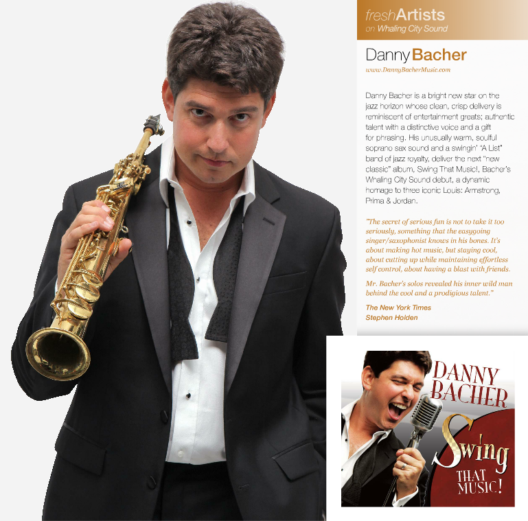 Danny Bacher's Swing That Music Jazziz Review
