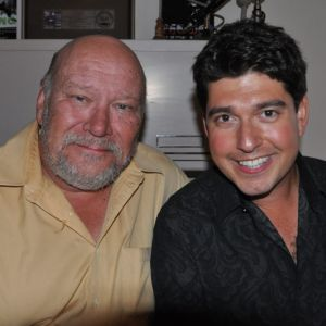 Danny Bacher with Warren Vache. Photo courtesy of Jane Bacher