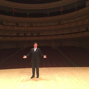 The main room at Carnegie Hall