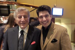 Danny Bacher and Tony Bennet